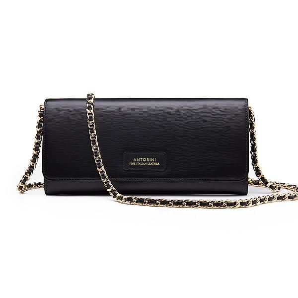Luxurious Terre Concetta Wallet in Black