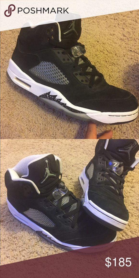 Retro Jordan Oreo 5 Retro Jordan Oreo 5s size 10.5 Air Jordan Shoes Athletic Shoes