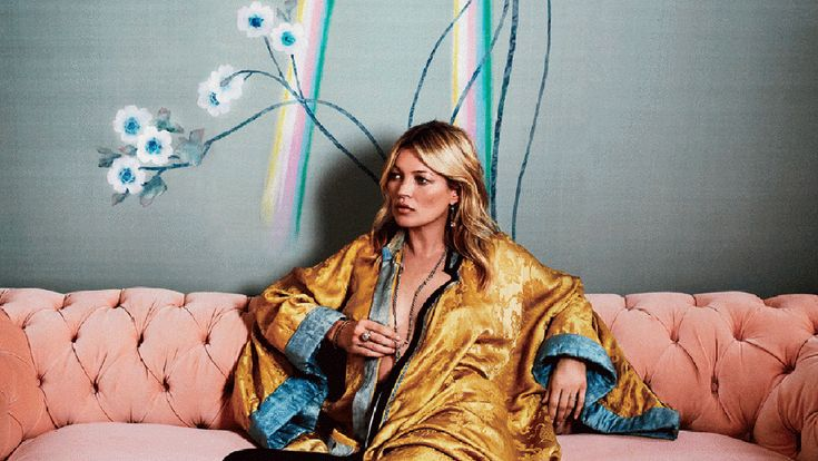 Kate Moss and de Gournay founder Claud Cecil Gurney teamed up to form a creative hub for luxury wallpaper.