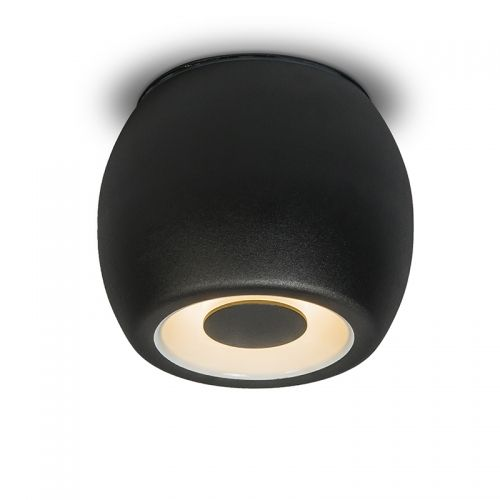 Overig | Plafondspot Fondo zwart | www.ledlamp.nl
