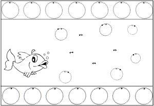 image les bulles du poisson