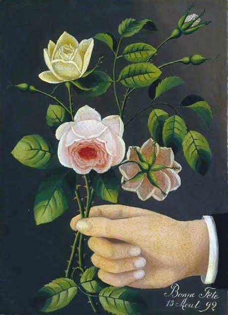 """Bonne fête (Happy Birthday),"" 1892, Henri Rousseau"