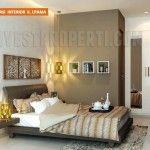 Interior design master bedroom Nusa Loka Park BSD.