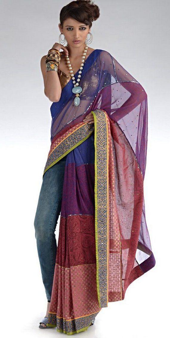 Nida Mahmood sarees    neo sarees designer saree