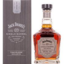 Jack Daniel's 100 Proof Single Barrel Tennessee Whiskey, 70 cl