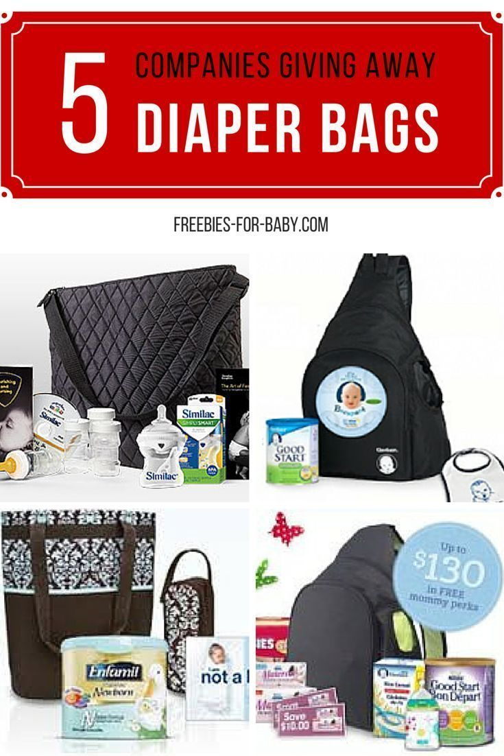 Get a FREE Diaper bag filled with full-size baby products including  diapers 2471a2e6d9945