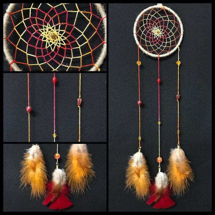 This beautiful fiery dream catcher is officially available! #handmade #torileydesigns #beads #wallhanging #dreamcatcher #unique #handmade #available http://ift.tt/2rLdB4E