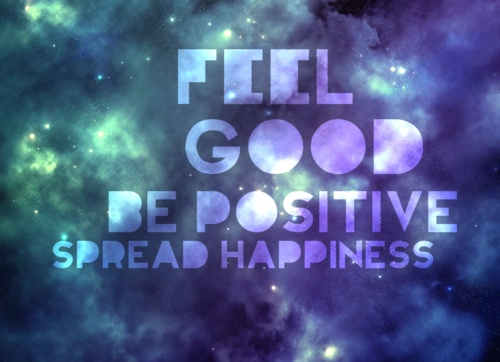 Feel good, be positive, spread happiness via #arttherapy