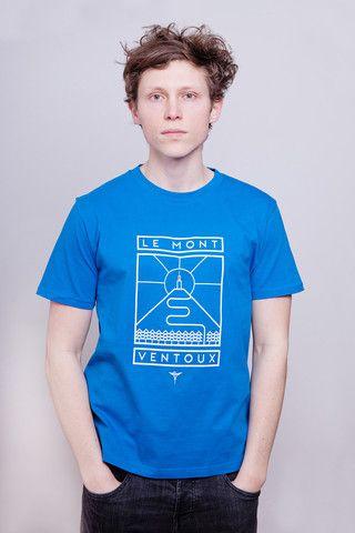 Mont Ventoux Bright Blue T-Shirt