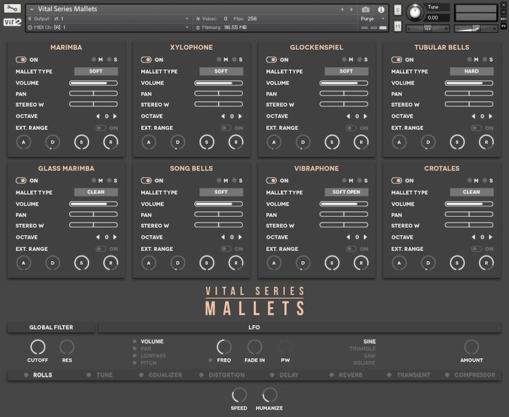KVR Audio News: Vir2 Instruments has released Vital Series: Mallets for Kontakt and Kontakt Player. With various mallet options for each instrument, up to 4 velocity layers & 5 round robins, Mallets delivers eight instruments: Marimba, Xylohone, glockenspiel, tubular bells, glass marimba, songbells, vibraphone and crotales. Features: 8 instruments including Marimba, Xylophone, Glockenspiel, Tubular Bells, Gla...