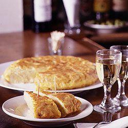 Potato omelette