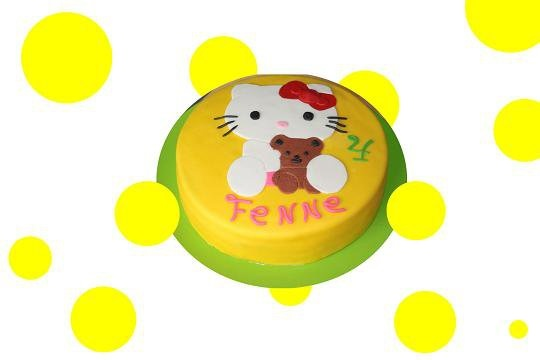 Hello Kitty birthday cake. Made by AMBD