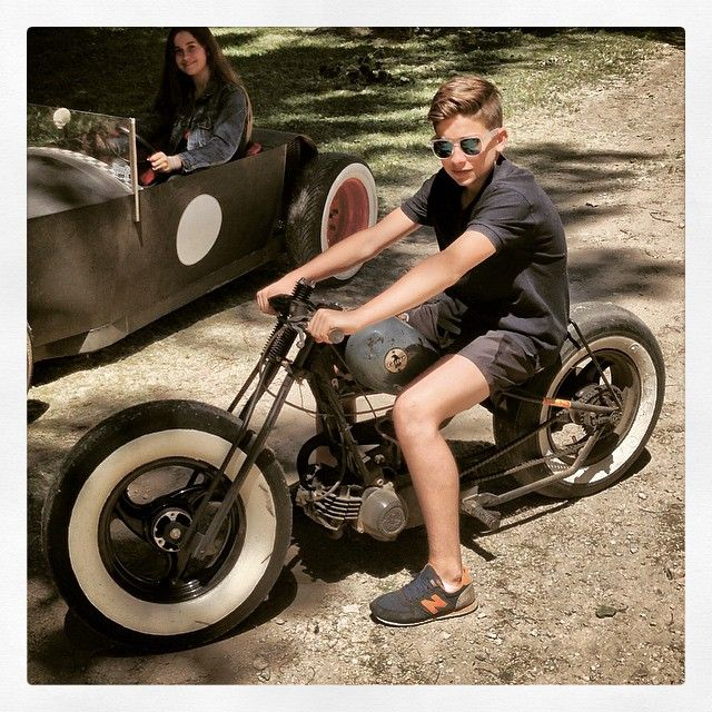 #minibike #bobber #Derbi #Variant #Torello #motorfest