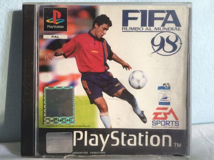 FIFA Rumbo al Mundial 98 game.
