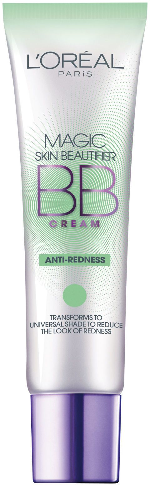 The Best BB Creams for Your Buck: L'ORÉAL PARIS MAGIC BB ANTI-REDNESS CREAM: Its green tint neutralizes redness from rosacea, inflammation, and breakouts, and the color transforms into your skin's perfect match as you rub it in. $10.99; lorealparisusa.com.