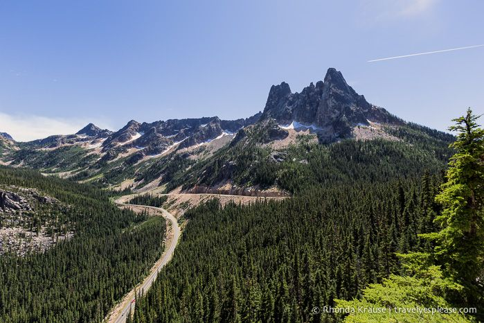Washington Pass and Liberty Bell Mountain- North Cascades Highway, Washington