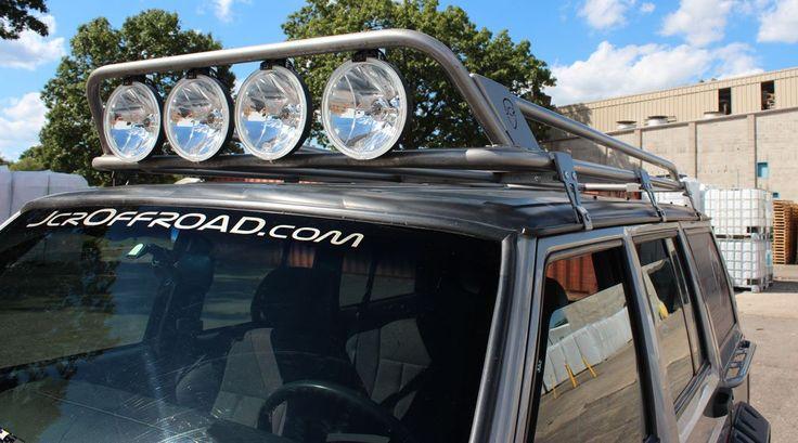 JcrOffroad Prerunner Roof Rack - Jeep Cherokee XJ (84-01) - JcrOffroad