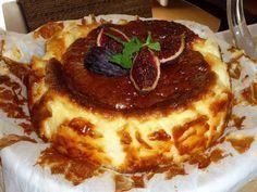 Cocinando con Lola García: Tarta de queso del Restaurante La Viña