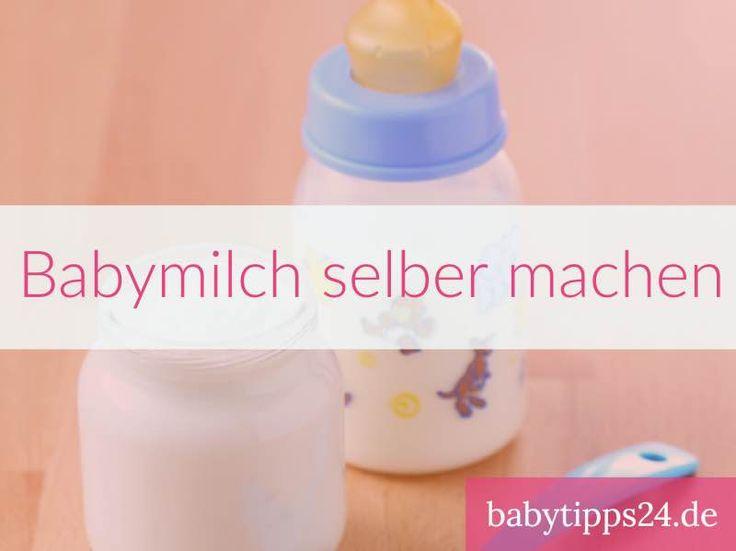 Säuglingsmilch selbst herstellen