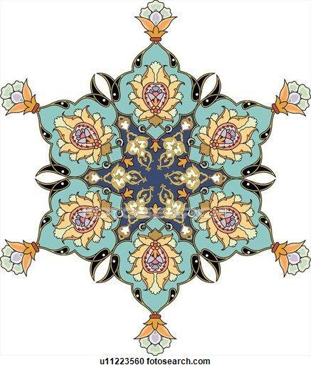 Arabesque Designs (page 6) - stock illustration clip art. Buy ro   20 фотографий