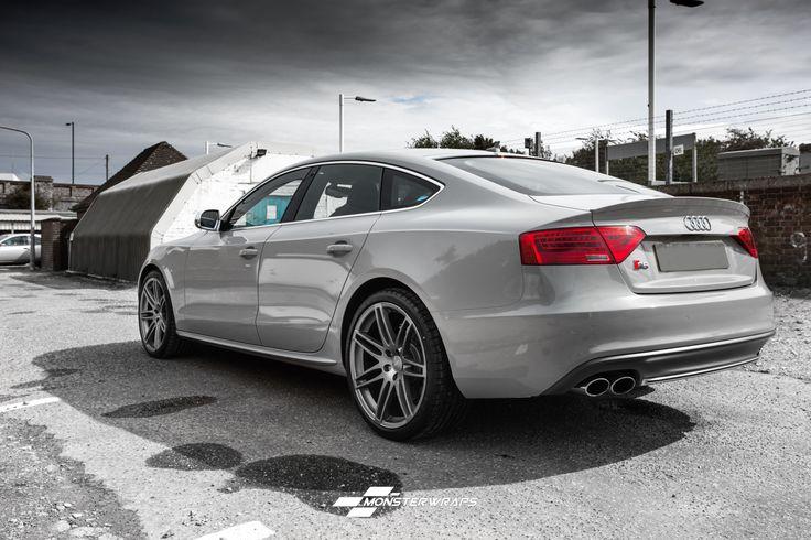 Audi S5 Nardo Grey full wrap audi grey