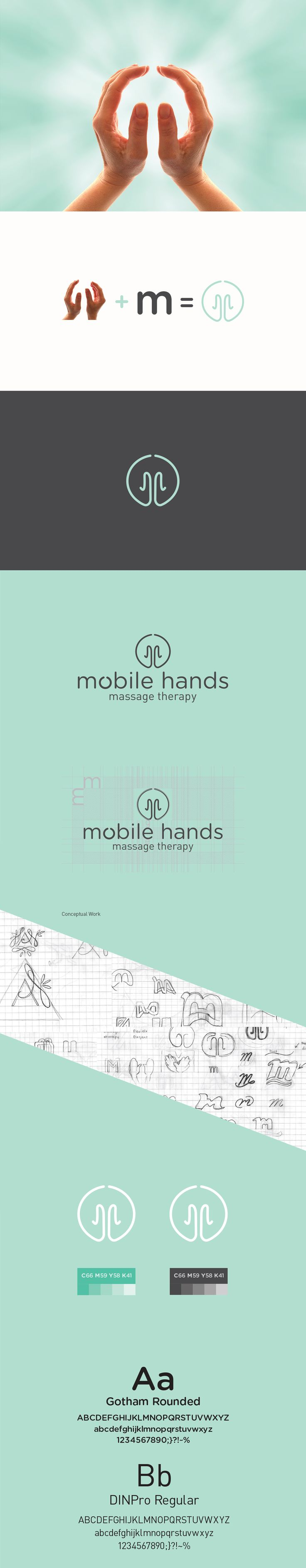 Branding and Logo Development for Massage Therapist. by Thain Lurk www.thaincreative.com