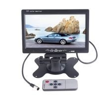 7 pollici 7 W 2-way ingresso video AV1 AV2 Universale LCD Digitale ad alta definizione HD DVD VCD Car Specchio Retrovisore Car Monitor 12 V