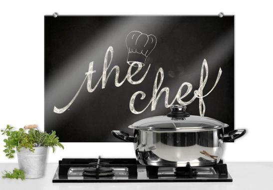 Spritzschutz - The Chef