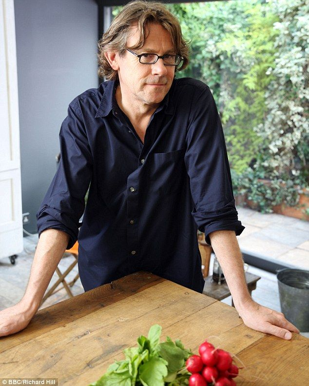 Promoting British: The TV chef says the influx of dishes from around the world means we could be forgetting about 'the gorgeous produce from our own back yard'