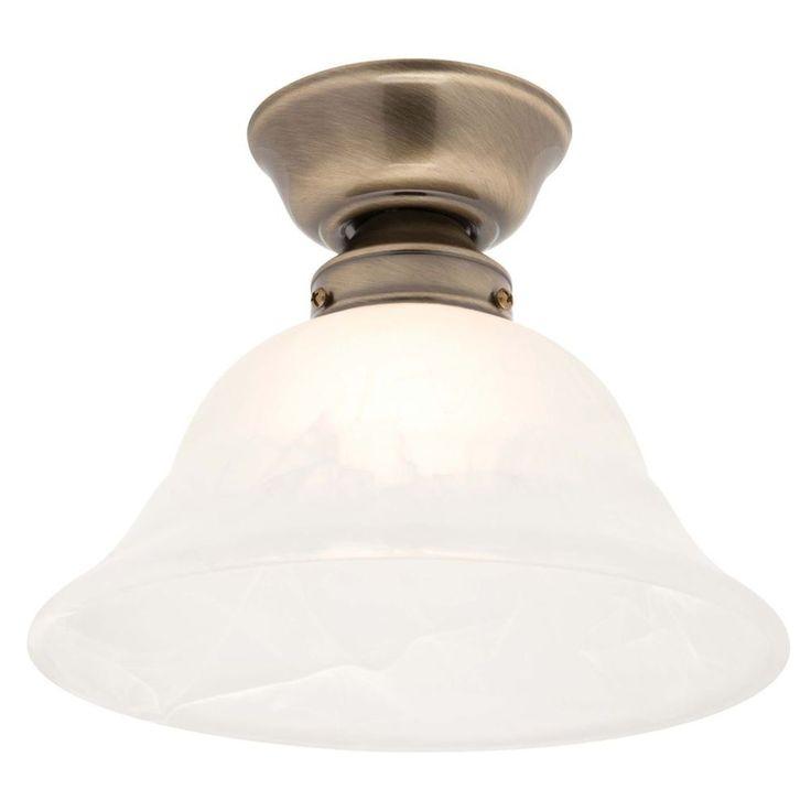 Liteworks Crete Alabaster Glass Batten Fixed Light - Masters Home Improvement