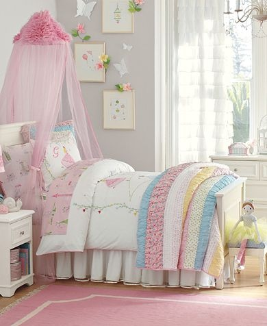 17 best images about girls bedroom ideas canopies on for Pottery barn kids rooms