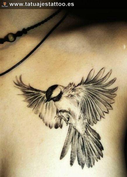 tatuajes de aves volando