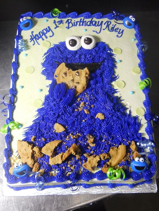 The Oregon Dairy | Kids Birthday Cakes  This was Riley's First birthday cake...and it made the Oregon Dairy website!