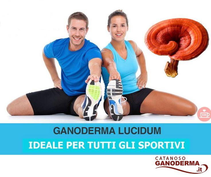 Il Ganoderma Lucidum Biologico DXN Reishi è ottimo per gli sportivi. Ecco la vendita online