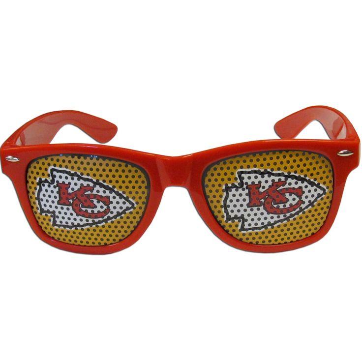 Siskiyou NFL Kansas City Chiefs Plastic Game Day Shades
