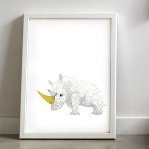 Image of Rhino. By Laura Shallcrass.