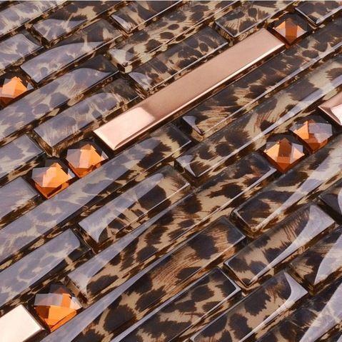 Best 25+ Glass Mosaic Tile Backsplash Ideas On Pinterest | Mosaic Tiles,  Metallic And Gold Kitchen Part 74