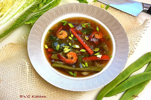 R'n'G Kitchen: Zupa wiosenna z krewetkami
