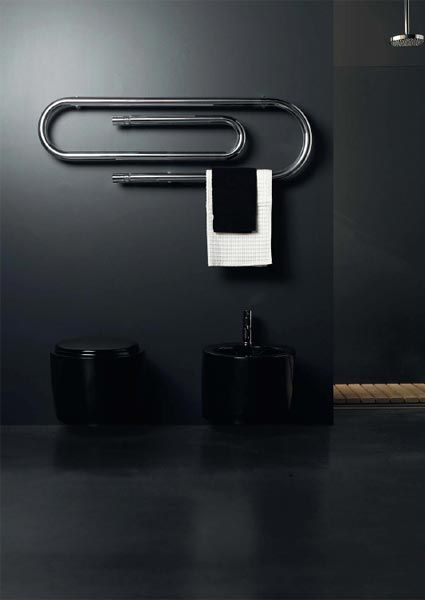 Grafe Towel Warmer: Unexpected Stationary For The Bathroom
