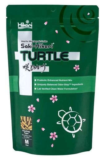 Hikari Food Saki-Hikari Turtle Diet Probiotics Odor Stop Digestible Meal 1.59oz