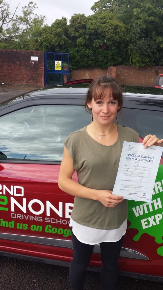 Congratulations to Alice Linnell from Bristol who passed her driving test this morning 04/08/17 FIRST time in Brislington picking up just 3 driver faults!   Well done Alice and safe driving in the future from your driving instructor Kevin Allen & all the whole team here at 2nd2None Driving School  https://www.2nd2nonedrivingschool.co.uk/driving-lessons-bristol.html