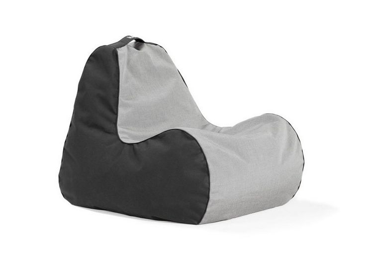 Outdoor Bean Bag Chair With Color Grey and Black - Best 25+ Outdoor Bean Bag Chair Ideas On Pinterest Rustic Bean