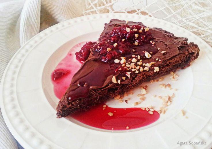 Kuchnia Wrze!: Czekolada nie tylko na smutki, czyli Brownie od sa...