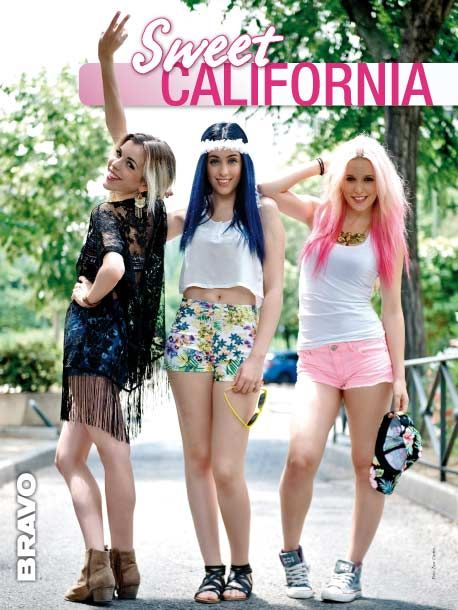 Póster Sweet California en BRAVO 490