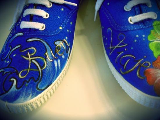 zapatillas victoria personalizadas  bambas tipo