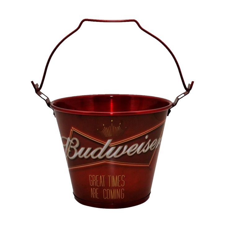 Balde de Alumínio Budweiser