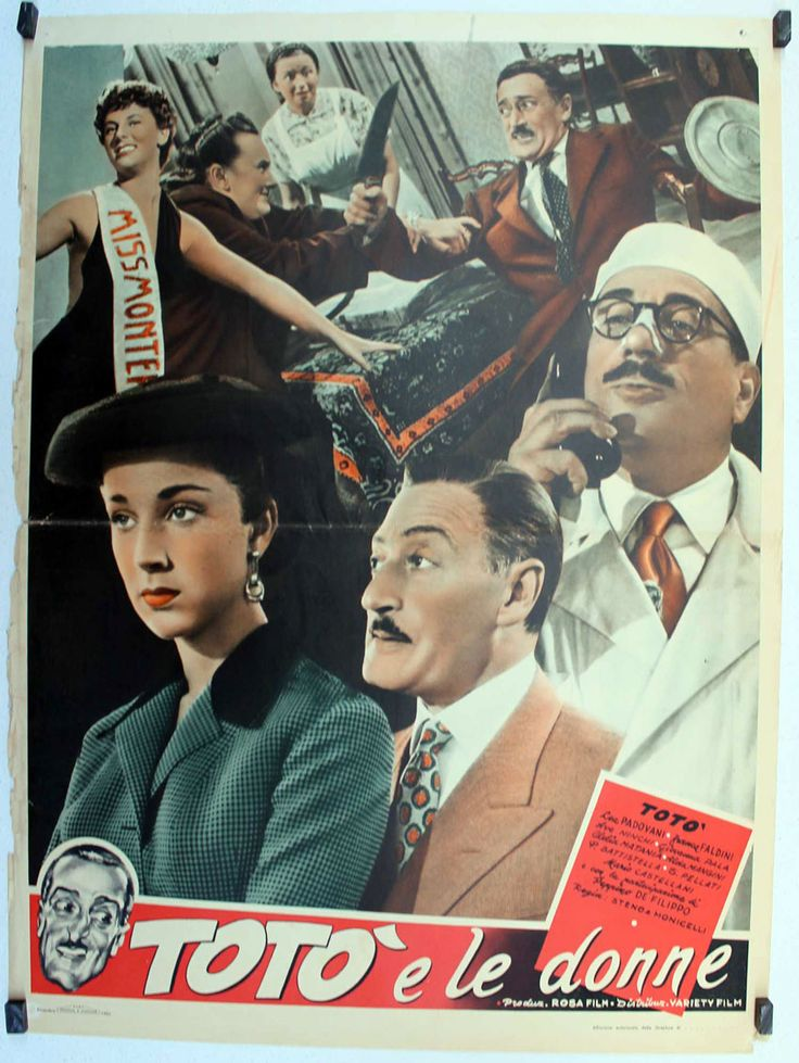 Totò e le Donne 1952 di Mario Monicelli e Steno. con Totò. Ave Ninchi, Franca Faldini e Peppino de Filippo.