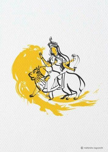 Katyayni 6th Swaroop of Durga Out of 9 Swaroop