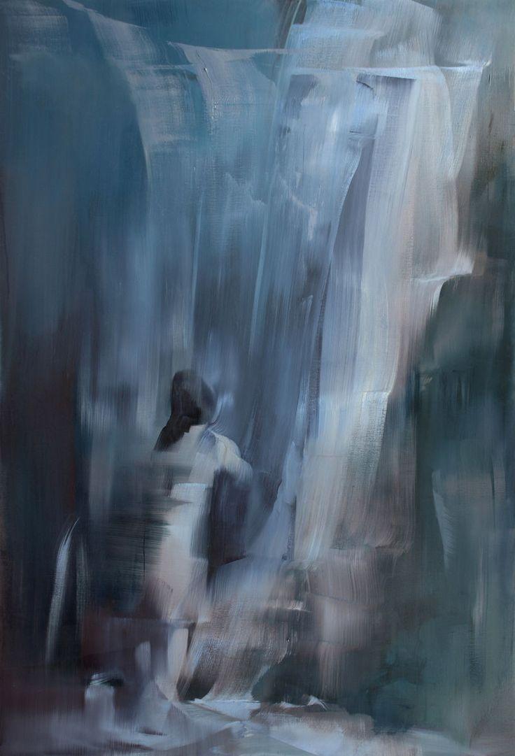 Sarjasta Kangastuksia vol 8, 2015 by Tiina Heiska. Oil on canvas, 190x130 cm. Inquiries sari.seitovirta@seitsemanvirtaa.com / GALERIE SEITSEMÄN VIRTAA