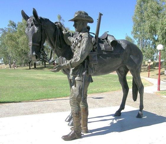 Memorial to the Australian Light Horse, Tamworth